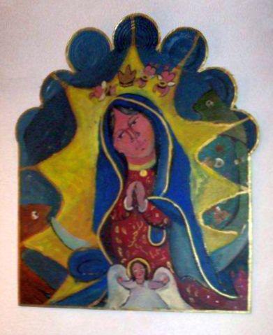 Retablo by Lydia Garcia