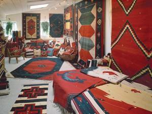 Zapotec rugs.