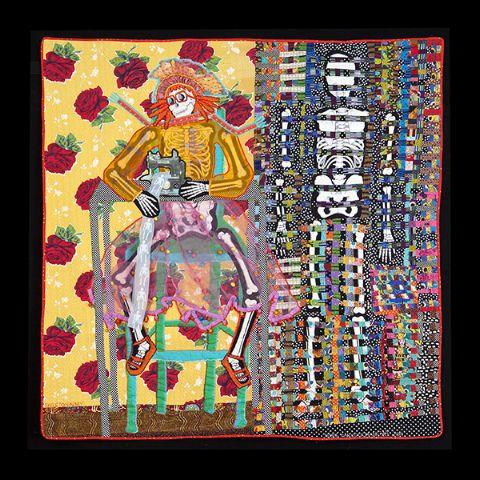 textile art by Terrie Hancock Mangat