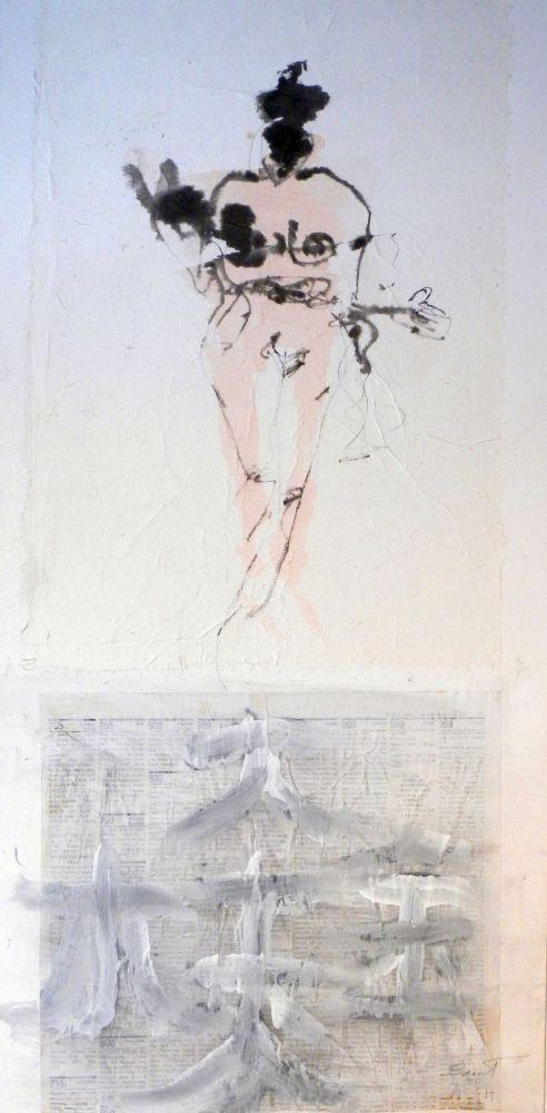 The Gift 30 x 15in - Ann St. John Hawley
